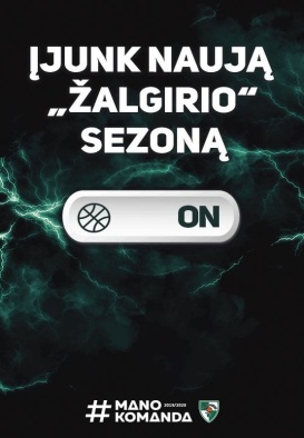 "Basketball club ""Žalgiris"" 2019/2020 season games"